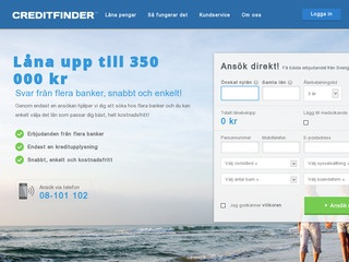 Creditfinder Lån