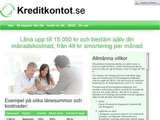 Kreditkontot Lån