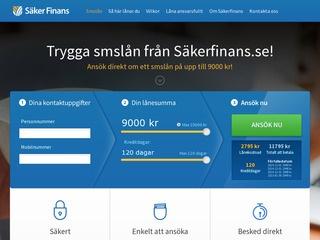 Säkerfinans Lån