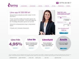 Spring Finance Lån
